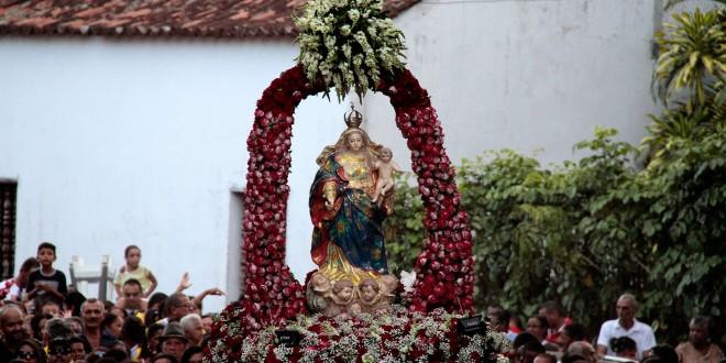 4 de abril: feriado municipal de Nossa Senhora dos Prazeres